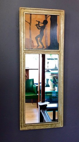OI975 ROWLEY GALLERY FRAMED MIRROR PANEL