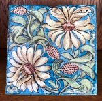 OI1015 WILLIAM DE MORGAN TILE