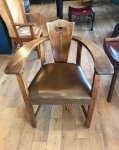 F1013 GLASGOW SCHOOL CHAIR BY GEORGE WALTON