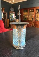 OI1088 ARTS & CRAFTS COPPER HALL LANTERN