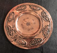 OI1109 ARTS & CRAFTS COPPER PLATE
