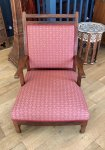 F1033 ANGLO INDIAN RAJ ROSEWOOD ARMCHAIR
