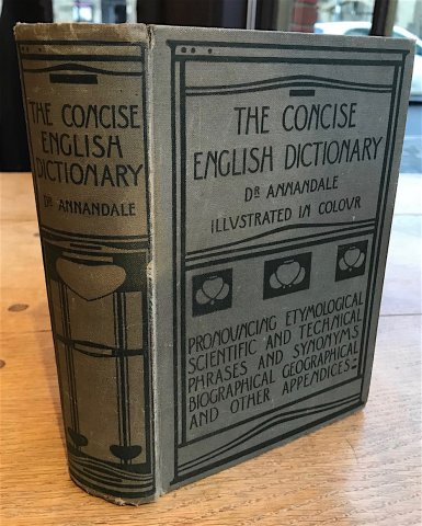 B95 THE CONCISE ENGLISH DICTIONARY BY CHARLES ANNANDALE
