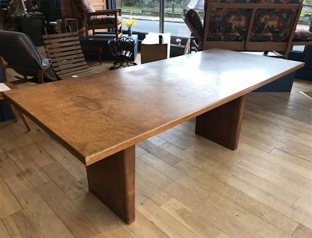 F884 MODERNIST DINING TABLE BY GORDON RUSSELL