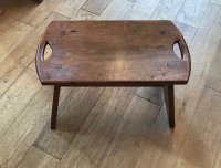 F866 ARTS & CRAFTS OAK STOOL