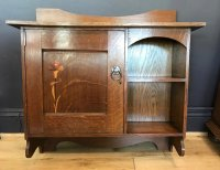 F811 ARTS & CRAFTS WALL CABINET