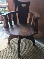 F1038 GEORGE WALTON CHAIR