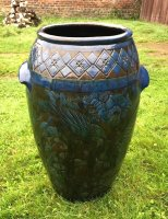 OI1030 ARTS & CRAFTS LARGE BRANHAM POT