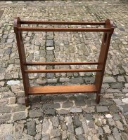 F830 ARTS & CRAFTS OAK TOWEL RAIL