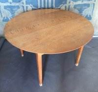 F888 ARTS & CRAFTS OAK COTSWOLD SCHOOL TABLE