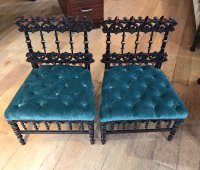F850 AESTHETIC MOVEMENT PAIR OF SIDE CHAIRS