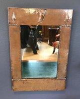 OI1005 LIBERTY & CO COPPER FRAMED MIRROR