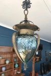 OI1095 ARTS & CRAFTS HANGING LANTERN