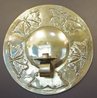 OI870 Scottish Brass wall sconce
