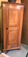 F800 ARTS & CRAFTS WALNUT WARDROBE BY ARTHUR ROMNEY GREEN